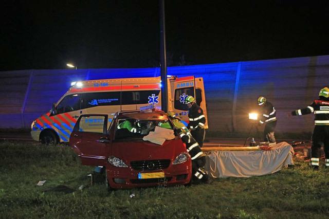 Ernstig verkeersongeval N201 TE HOOFDDORP 029