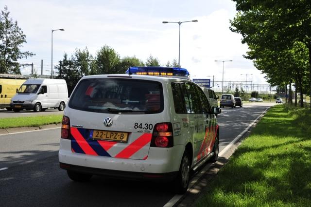 politie - langs de weg