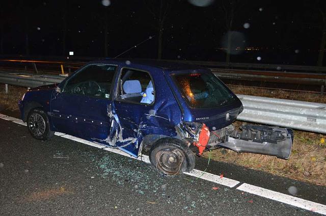 Nieuw-Vennep: A44 dicht na ongeval