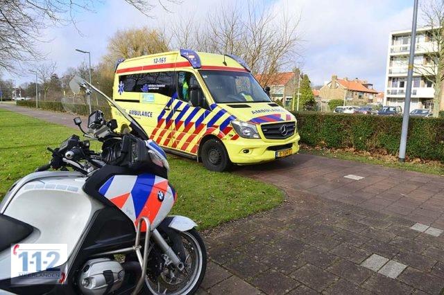 Hoofddorp – Fietser gewond na botsing met scooter