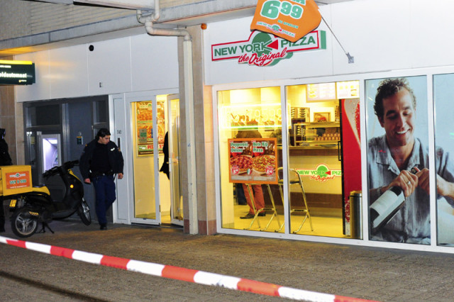 Hoofddorp: New York pizza Muiderbos overvallen
