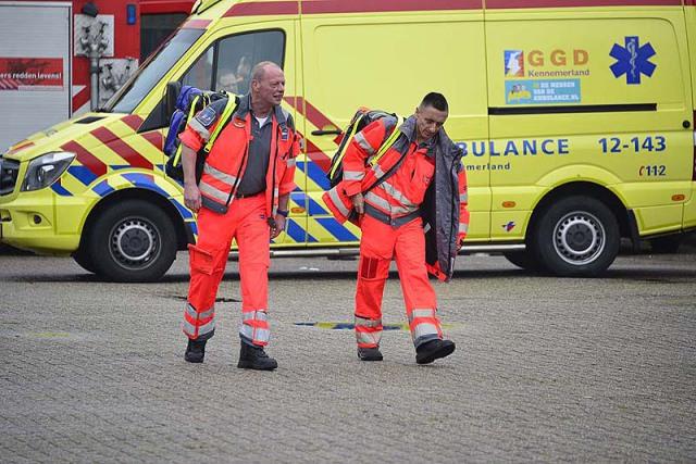 Vijfhuizen: Man overleden door ongeval in loods