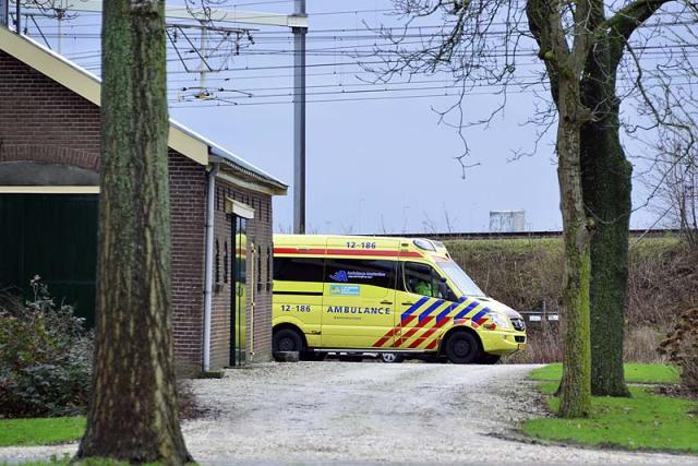 Hoofddorp: Man gewond na val van trap
