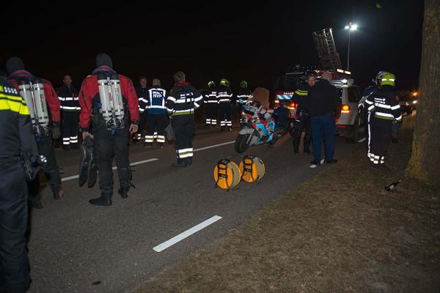 Badhoevedorp: Massale hulpverleningsactie na gevonden fiets
