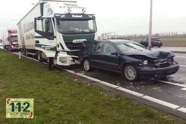 Rozenburg – Ongeval met vrachtwagen