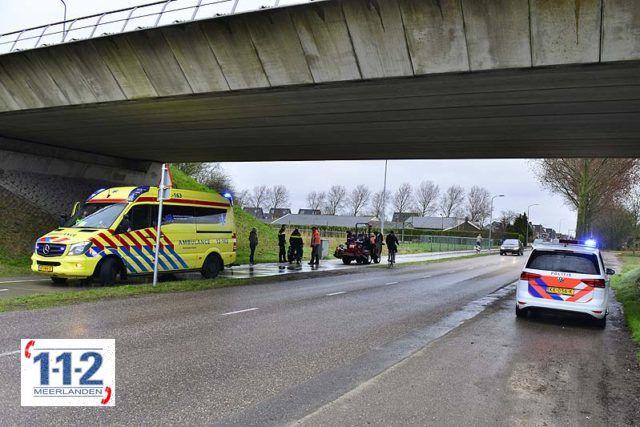 Nieuw-Vennep – Scooterrijder gewond na verkeerde inhaalmanoeuvre