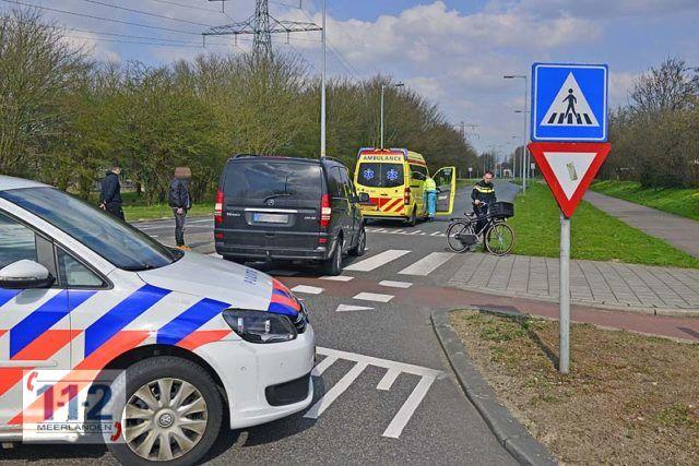 Hoofddorp – Fietser lichtgewond bij ongeval