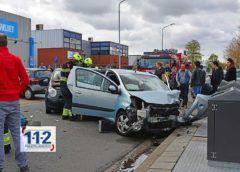 Hoofddorp – Automobilist en voetganger gewond bij ongeval