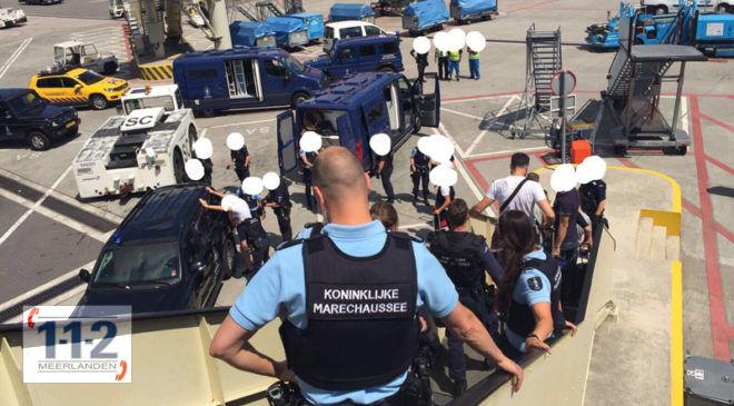 Schiphol – 13 personen een boete, na overlast in vliegtuig
