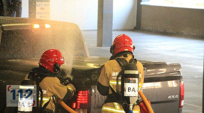 Uithoorn – Autobrand in parkeergarage