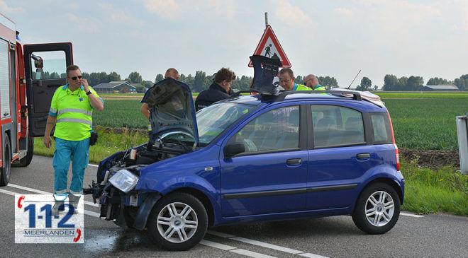 Hoofddorp – Twee gewonden bij ongeval op de Bennebroekerweg