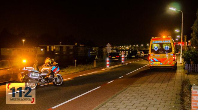 Badhoevedorp – Gewonde bij ongeval op de Nieuwemeerdijk