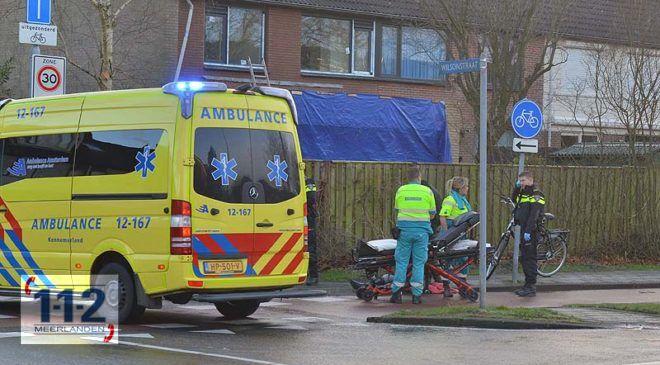 Hoofddorp – Fietsster gewond na val door spekglad fietspad