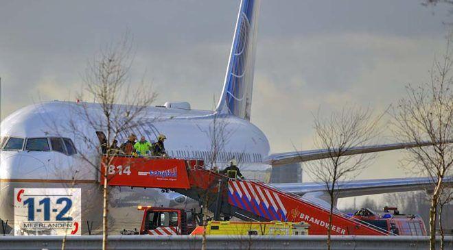 Schiphol – Meerdere mensen onwel aan boord van vliegtuig
