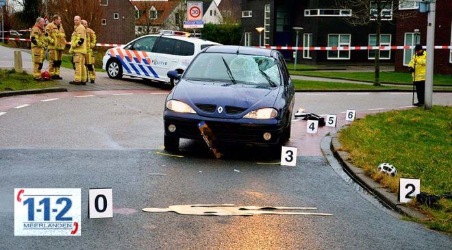 Uithoorn – Wielrenner zwaar gewond na frontale aanrijding met personenwagen