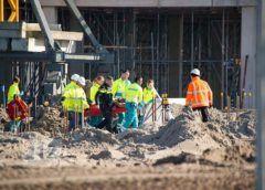 Rozenburg NH – Bouwvakker gewond bij ongeval