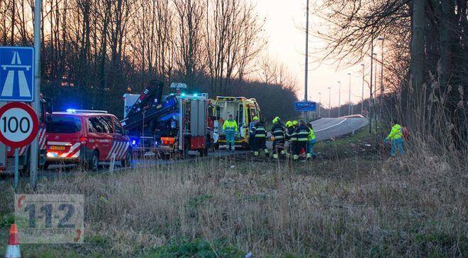 Halfweg – Man overleden na aanrijding met trein