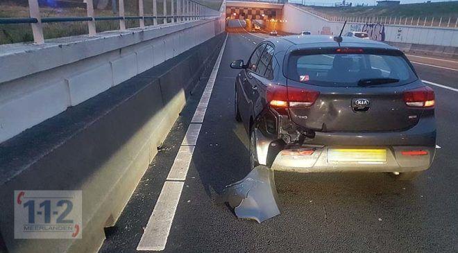 Nieuw-Vennep – Meerdere ongevallen op de A4 met alleen blikschade