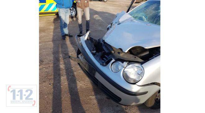 Hoofddorp – Lichte vertraging op N201 door ongeval