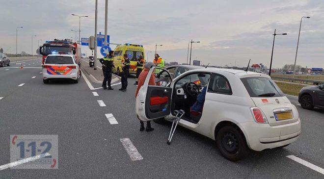 Hoofddorp – Twee gewonden bij ongeval op de N201