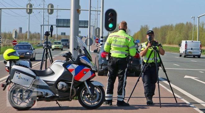 Haarlemmermeer – Rijbewijzen ingevorderd: met 243 km/uur over de N201
