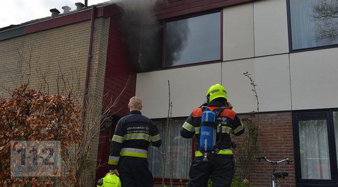 Hoofddorp – Brand op eerste etage in woning Wilsonstraat