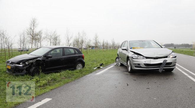 Badhoevedorp – Flinke schade door ongeval op de Schipholweg