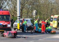 Uithoorn – Motorrijder ernstig gewond bij aanrijding op de Zijdelweg