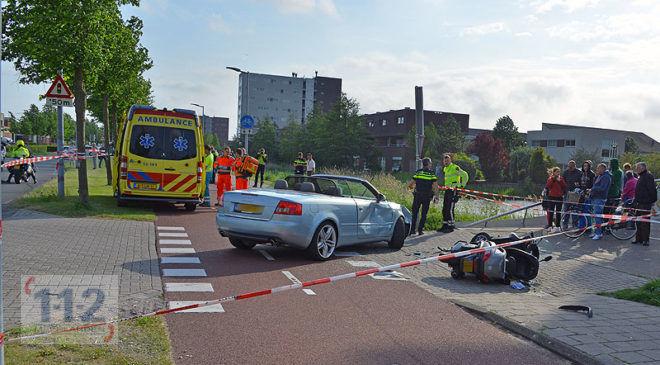 Hoofddorp – Motorrijder ernstig gewond na aanrijding