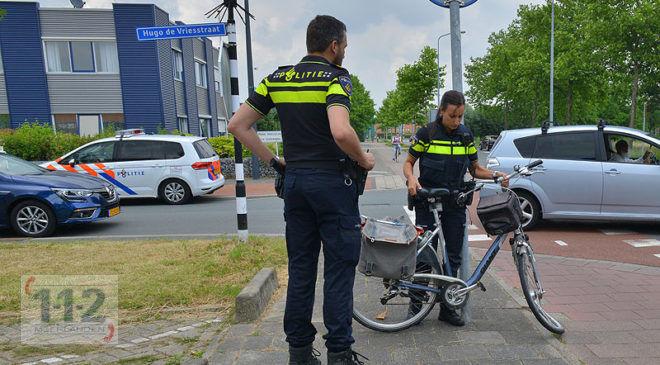 Nieuw-Vennep – Fietsster gewond na aanrijding met auto