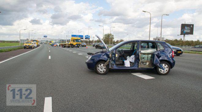 Schiphol – Gewonde na aanrijding met vrachtwagen op de A4
