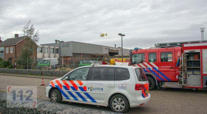 Nieuw-Vennep – Man zwaargewond na bedrijfsongeval