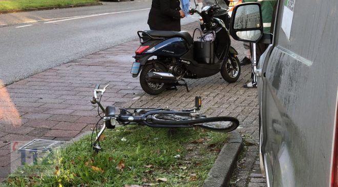 Hoofddorp – Bestuurder busje ziet fietser over het hoofd