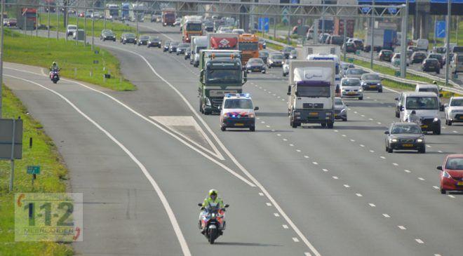 Haarlemmermeer – Bijzonder transport met drieduizend stamcelpreparaten over de A4