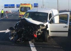 Rozenburg – Gewonde bij ongeval op de A4
