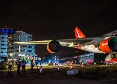 Badhoevedorp – Transport Boeing 747 naar Corendon hotel geslaagd. #Corendonmission747