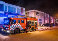 Heemskerk – brand in bedrijfverzamelgebouw
