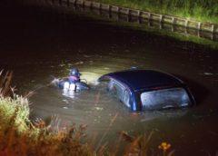 Aalsmeer – Auto te water