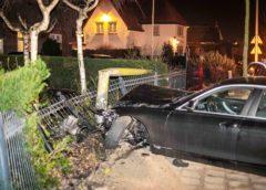 Zandvoort – Automobilist aangehouden na aanrijding