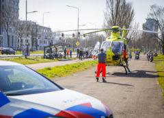Haarlem – Traumahelikopter opgeroepen voor onwel geworden fietser